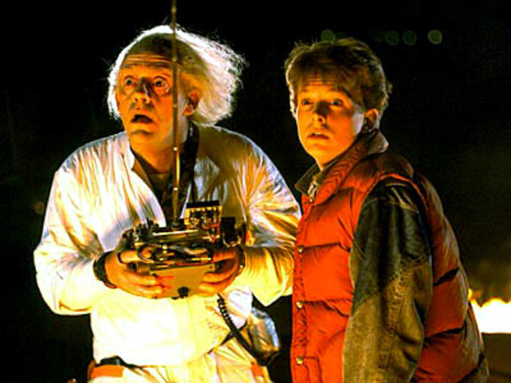 Doc Brown & Marty McFly