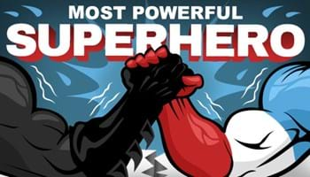 Most Powerful Superhero by Box Office Total