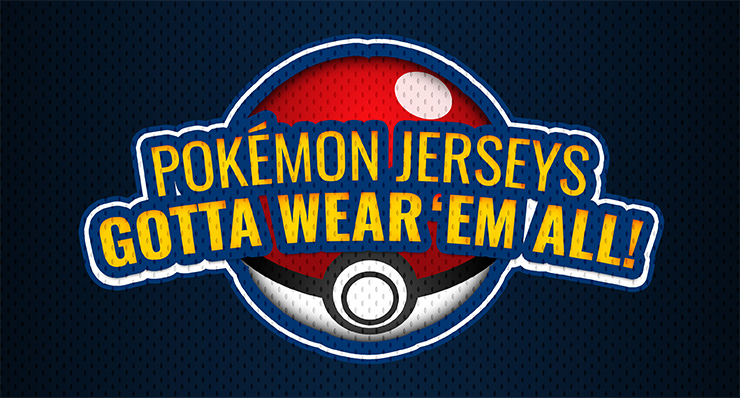 Pokémon Jerseys: Gotta Wear 'Em All