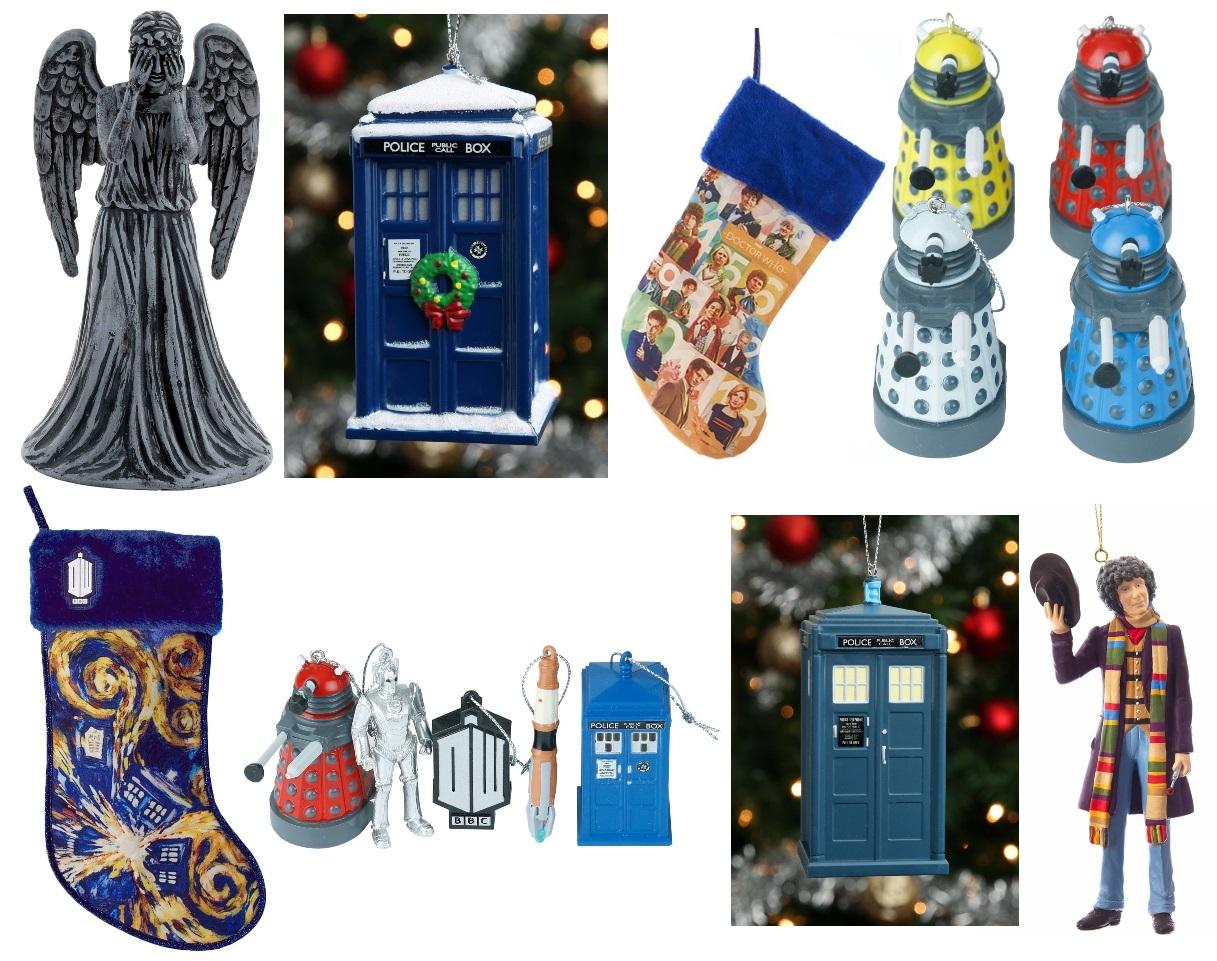 Doctor Who Christmas Décor