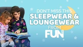 Don't Miss This Sleepwear and Loungewear from FUN.com