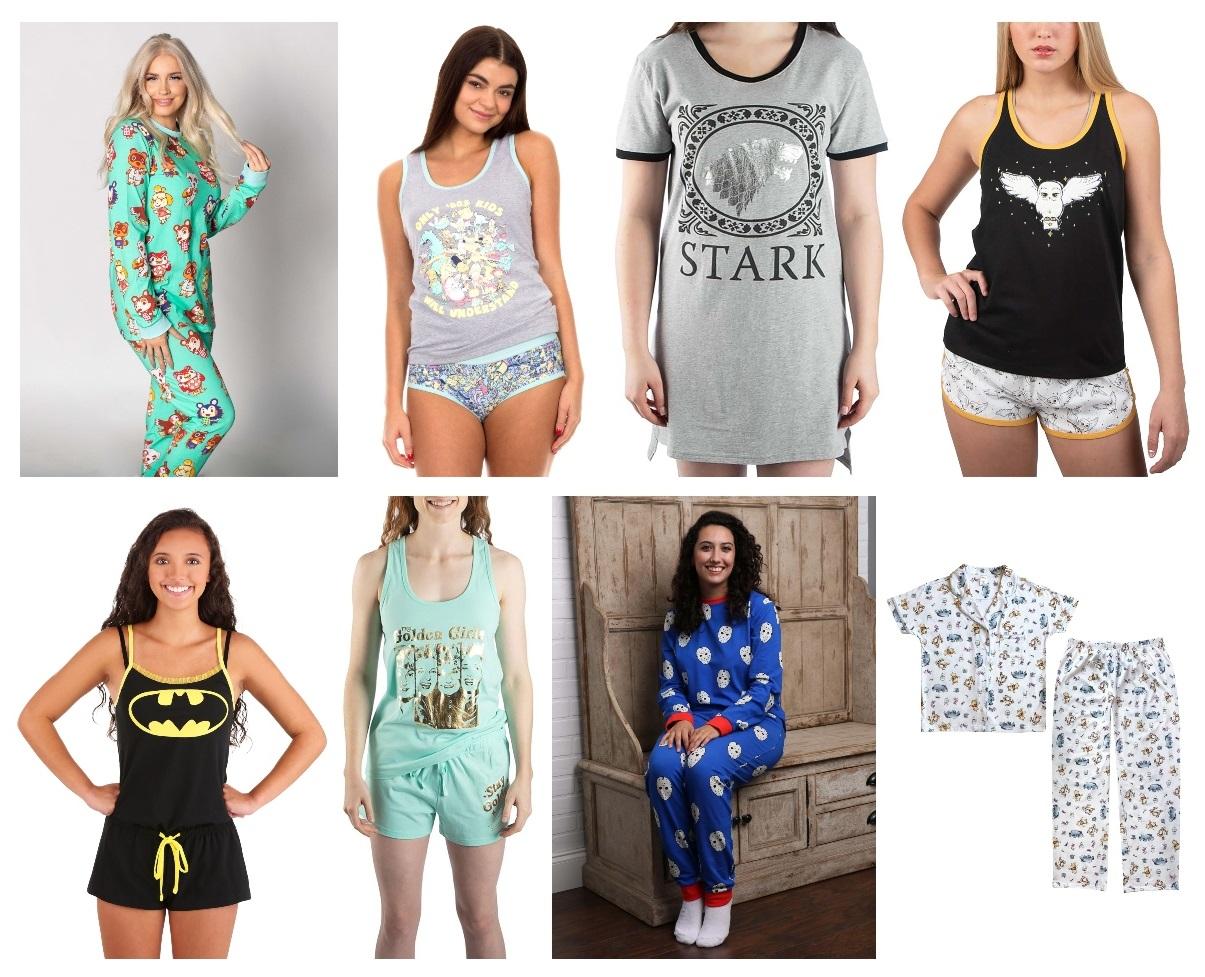 Nerdy Womens Sleepwear