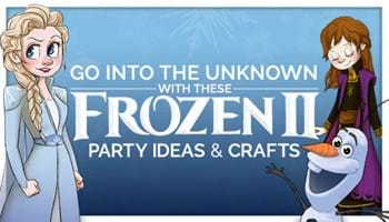 Frozen II Party Ideas: Go Into the Unknown With These Snowflake Patterns, Recipes and Crafts