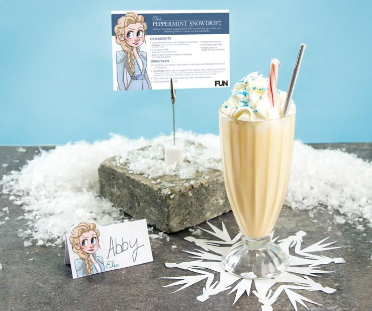 Frozen 2 Elsa Milkshake