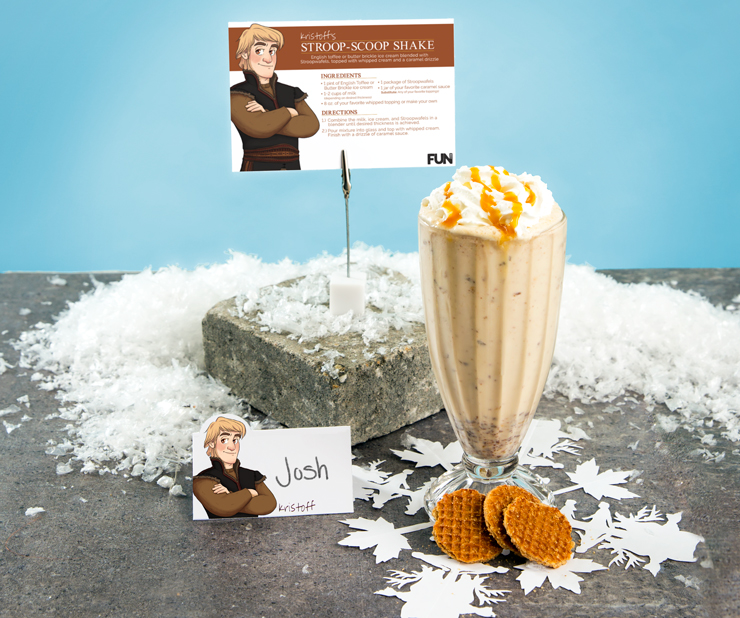 Frozen Kristoff Milkshake