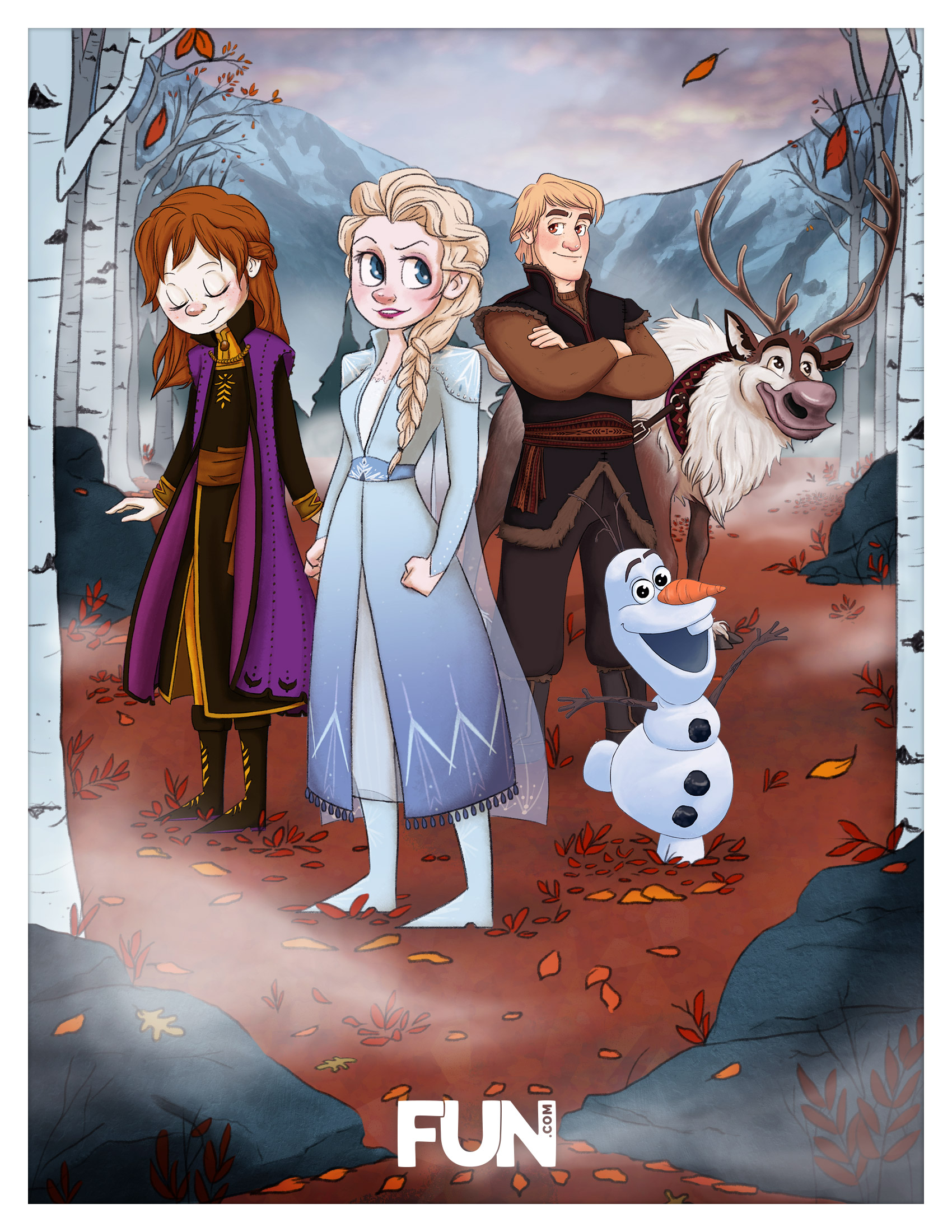 Frozen 2 Party Poster