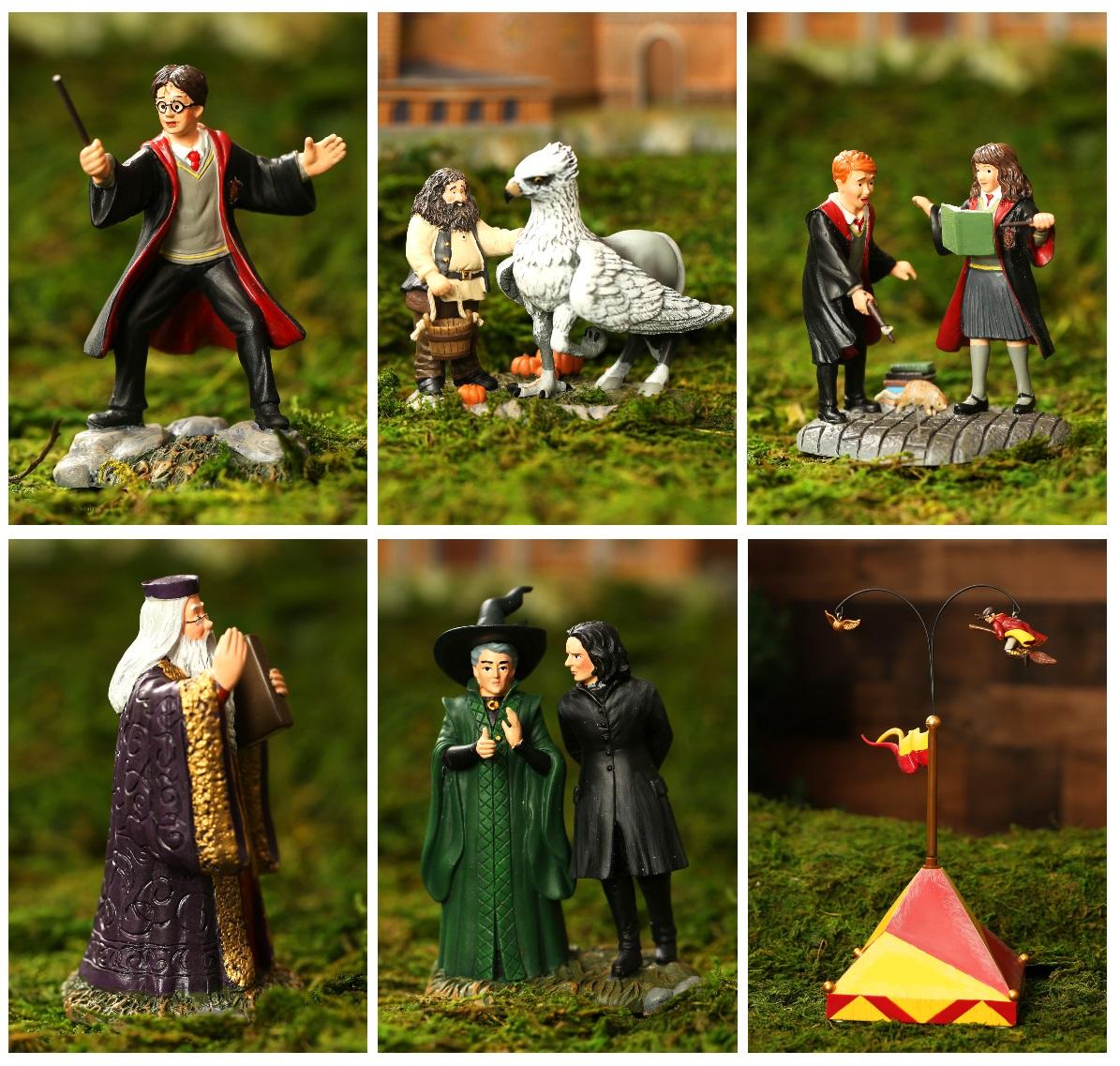 Harry Potter Village Figurines
