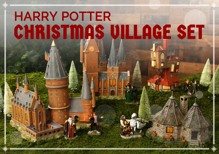 With This Harry Potter Village, You Can Create Your Own Christmas Magic