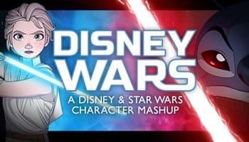 Disney Wars: A Disney and Star Wars Character Mashup