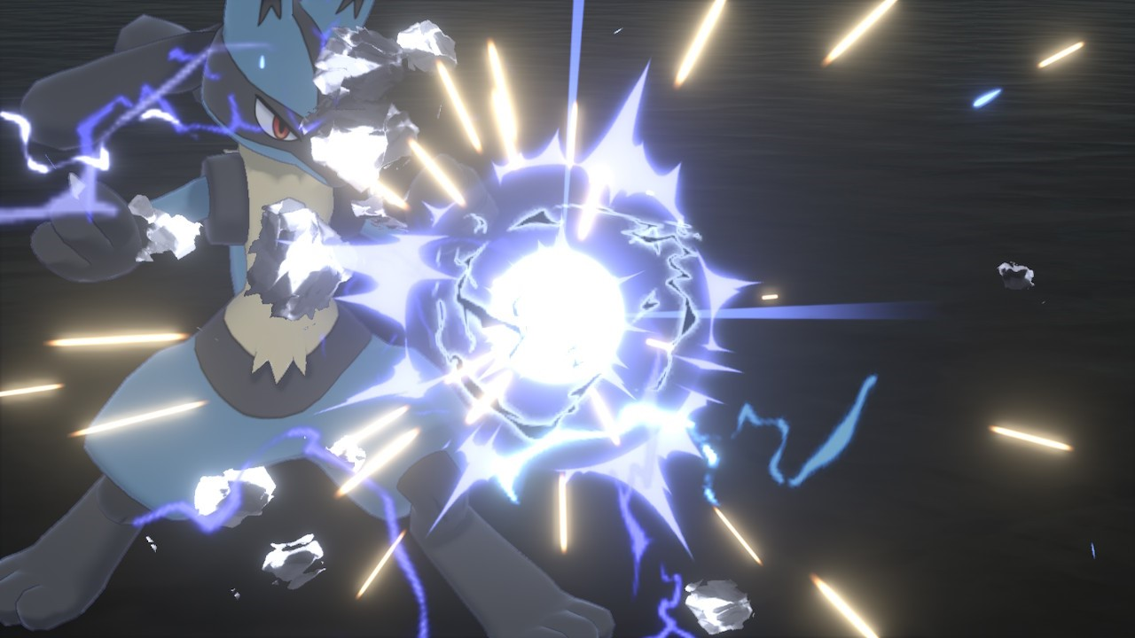 Pokémon Move Steel Beam