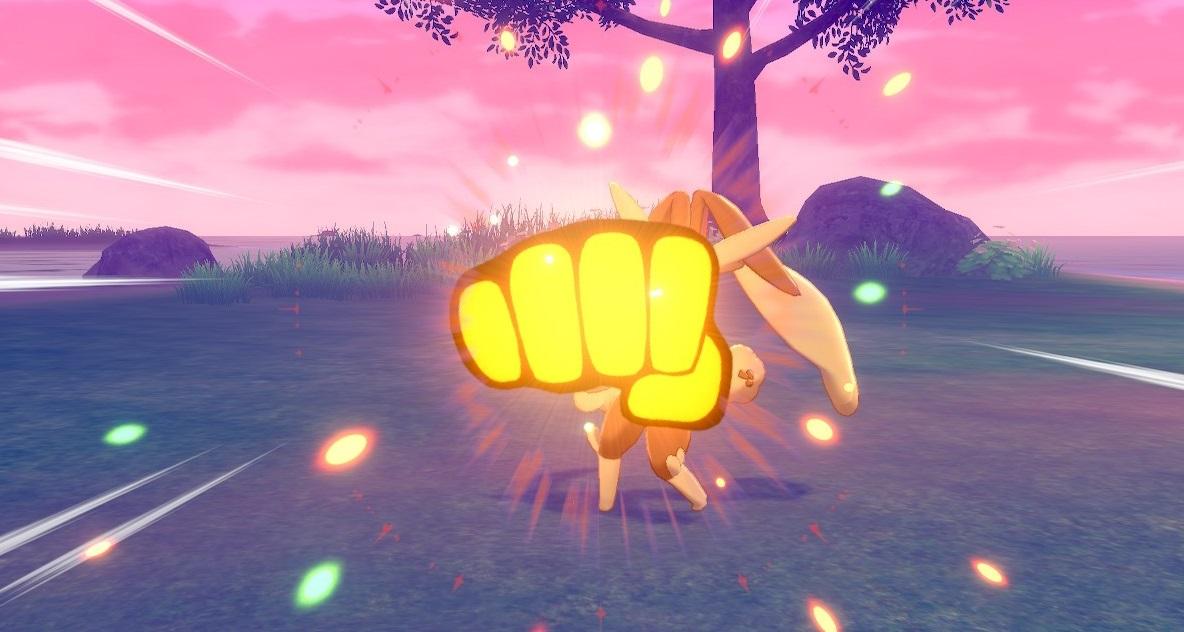 Pokémon Move Drain Punch