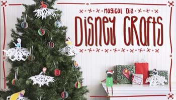 These Magical DIY Disney Crafts are Perfect for the Holidays