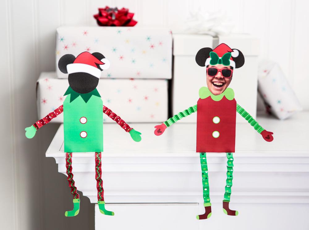 DIY DIsney Elf on the Shelf