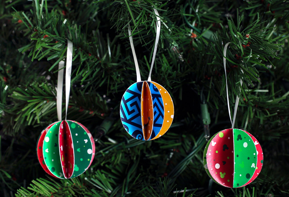 DIY Disney Paper Ornaments