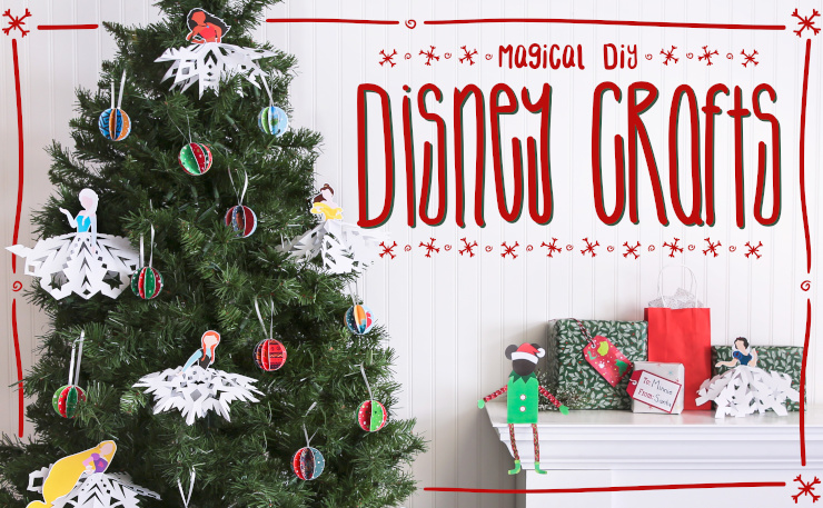 Magical DIY Disney Holiday Crafts
