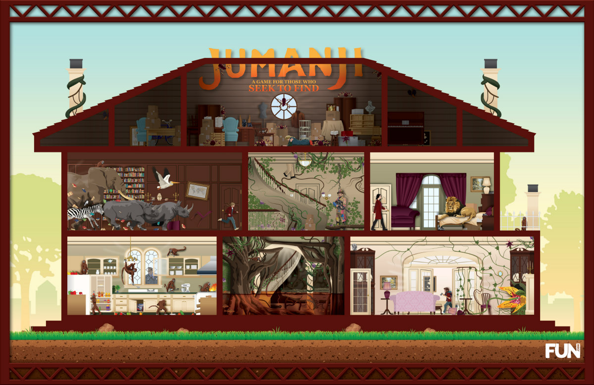 Jumanji: A Game for Those Who Seek to Find Hidden Object Game
