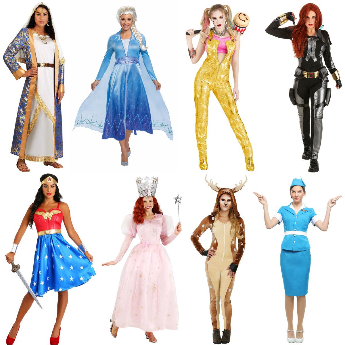 Women's Purim Costumes