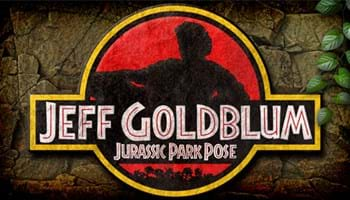 Jeff Goldblum Jurassic Park Pose: The Mashup You Never Asked For