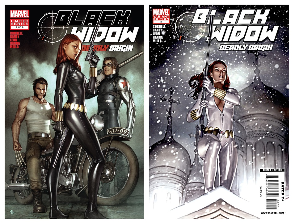 Black Widow Deadly Origin Comics