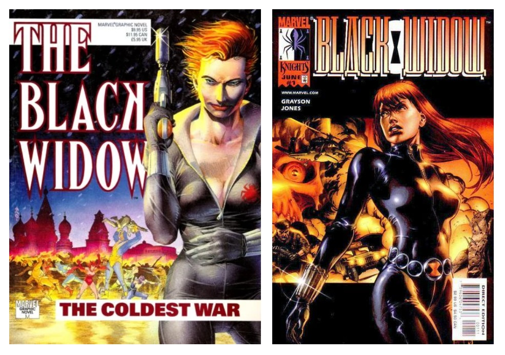 Black Widow Modern Age Comics