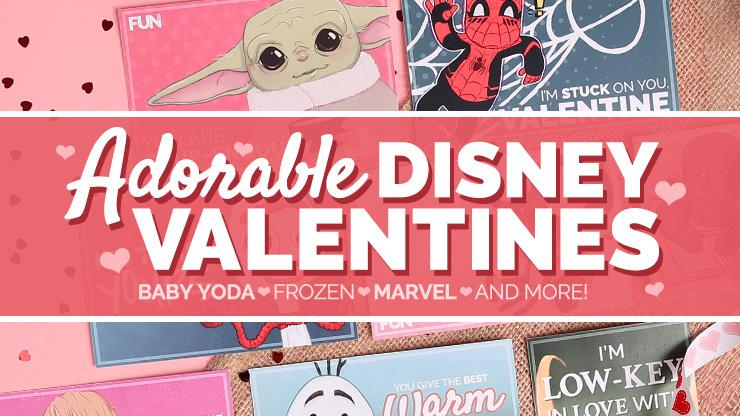 Adorable Disney Valentines