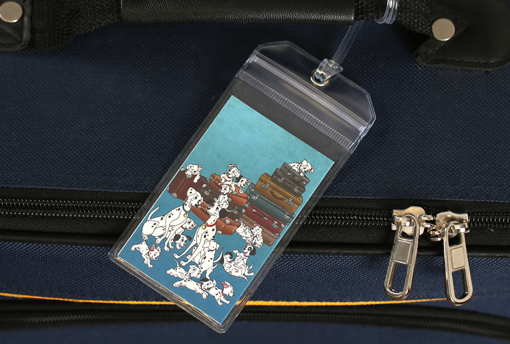 101 Dalmatians Disney Luggage Tag