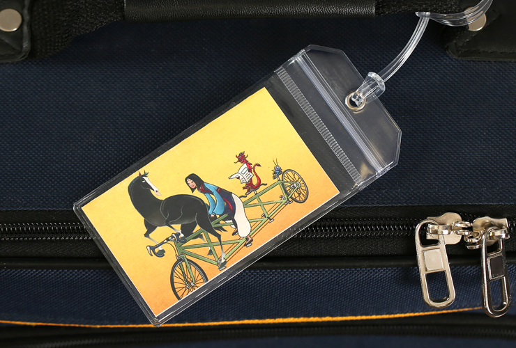 Mulan Disney Luggage Tag