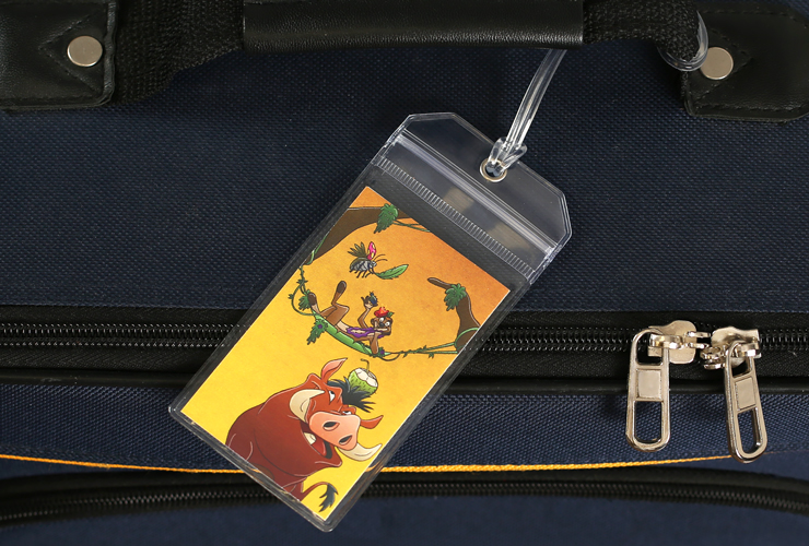 The Lion King Disney Luggage Tag