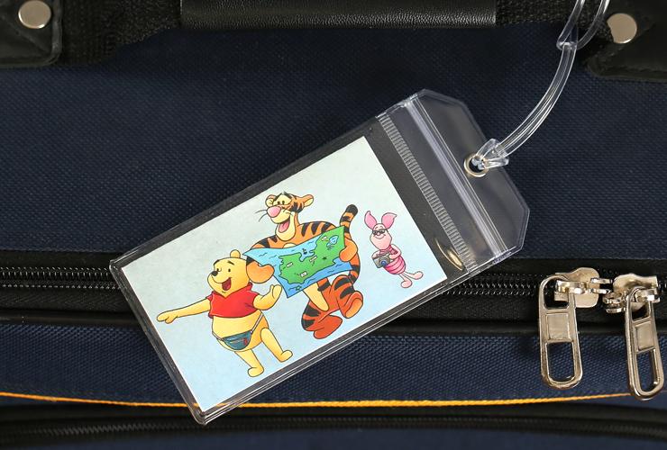 Winnie the Pooh Disney Luggage Tag