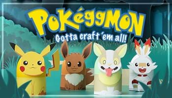 Pokéggmon: Gotta Craft 'em All Easter Eggs