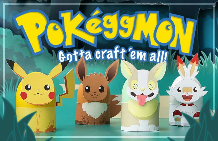 Pokéggmon: Gotta Craft 'em All Easter Eggs