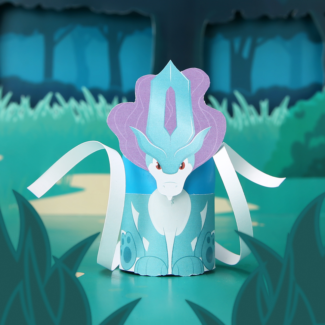 Suicune Easter Egg