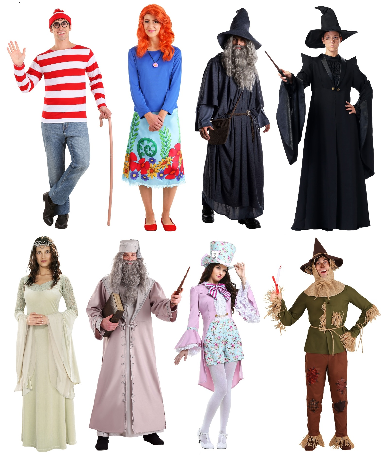 Adult Book Character Costumes