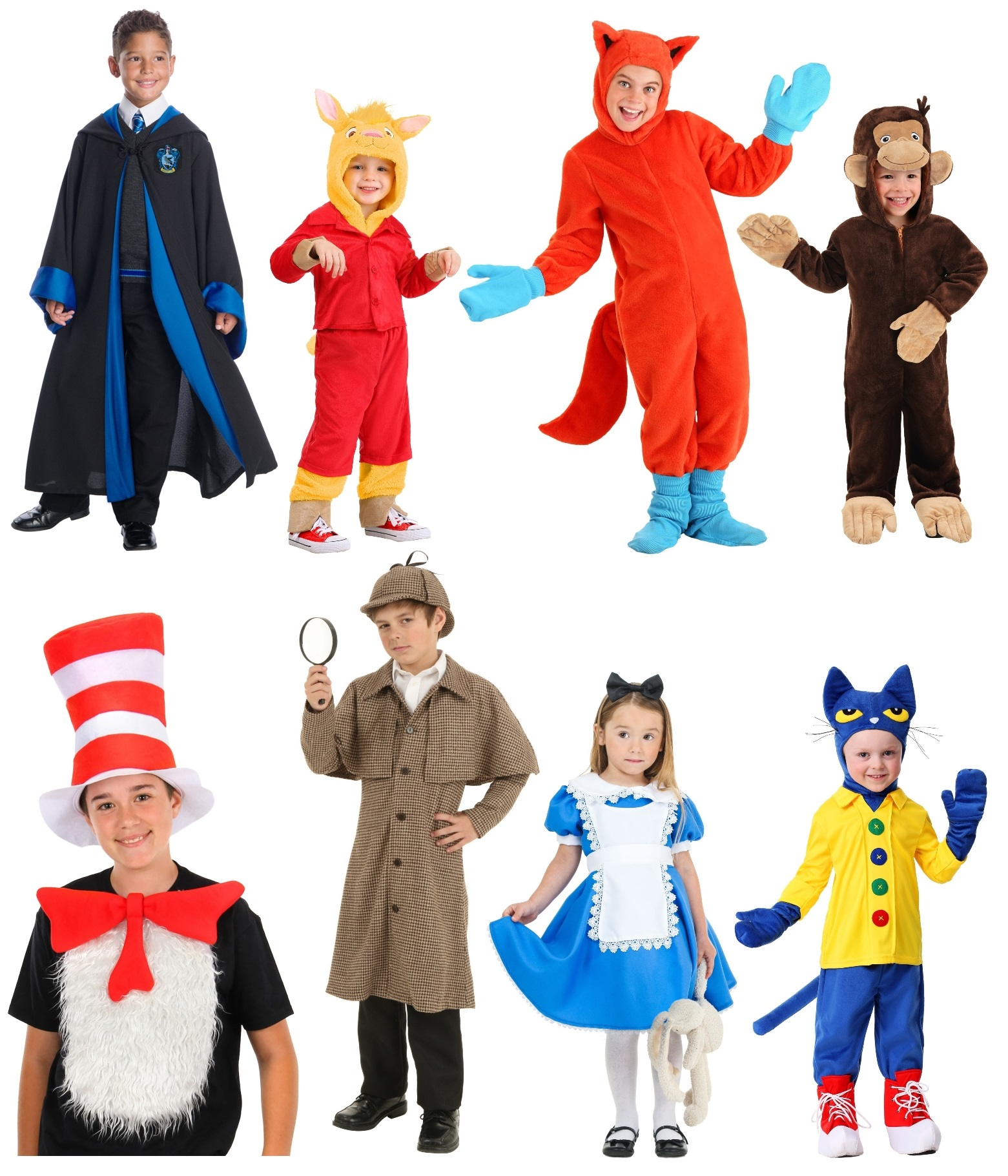 Book Character Costumes for Children