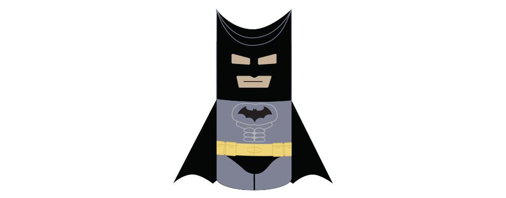 Batman Toilet Paper Roll Craft