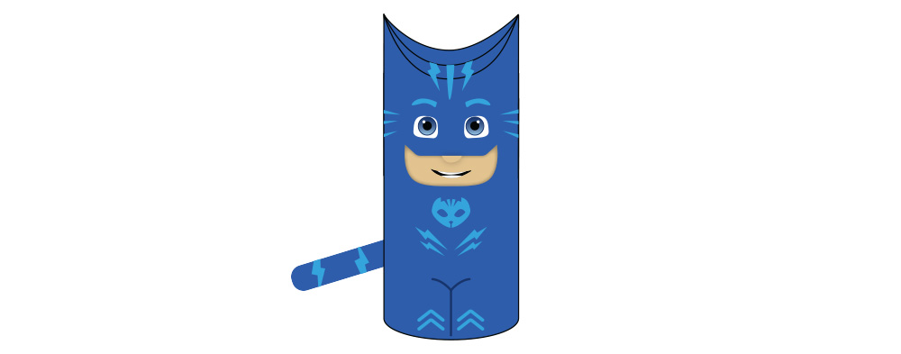 Catboy Toilet Paper Roll Craft