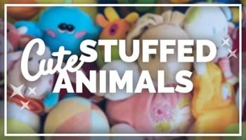 Cute Stuffed Animals to Keep Your Kingdom Cozy