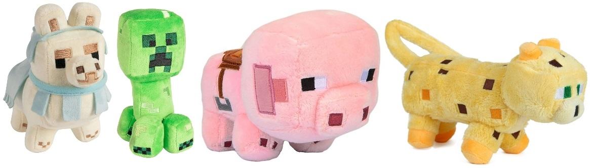 Stuffed Minecraft Toys