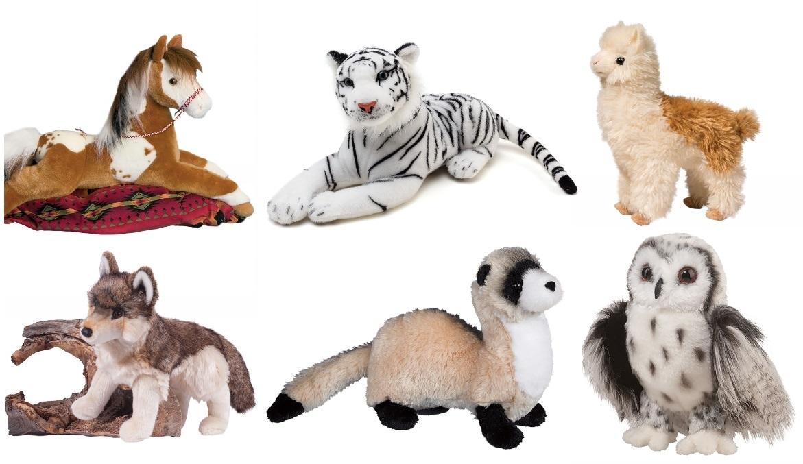 Realistic Animal Plush