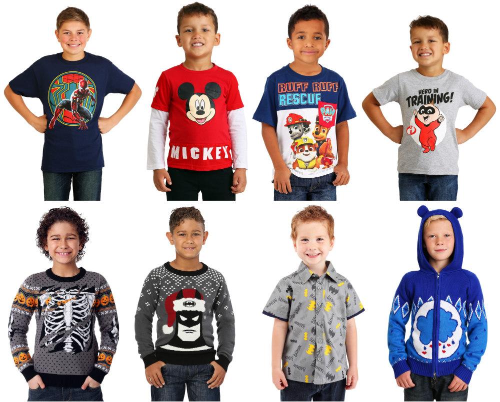 Boys' Shirts, Sweaters, and Hoodies