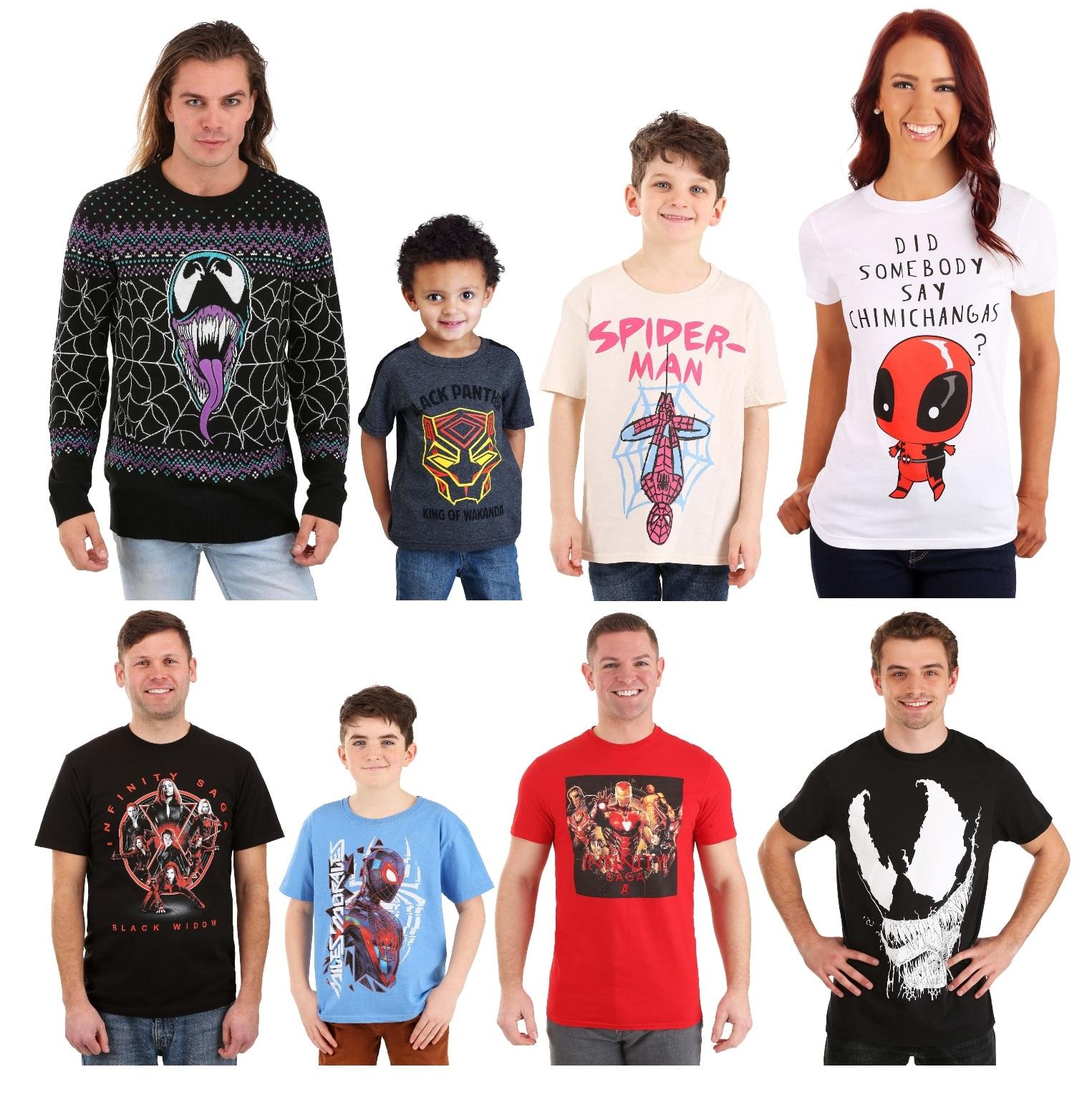 Marvel Shirts & Tops