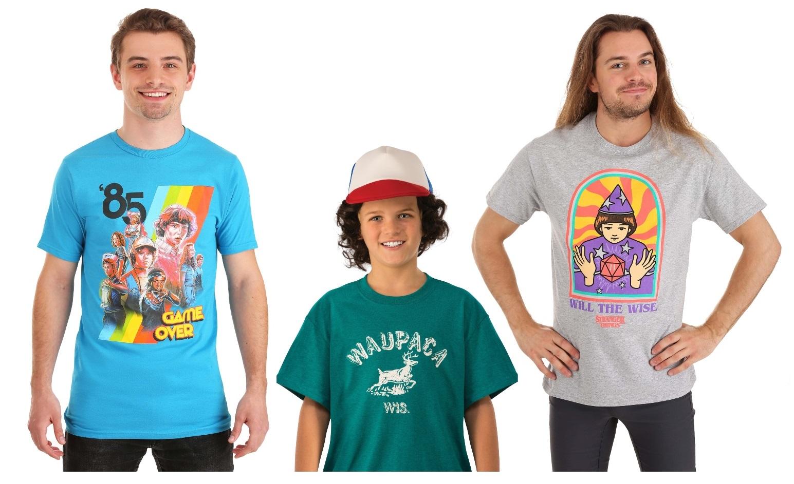 Stranger Things Shirts & Tops