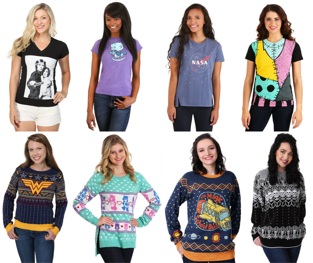 Women's Shirts and Sweaters
