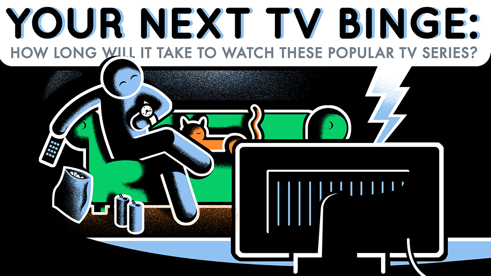 Prepare for Your Next TV Binge: How Long to Watch Popular TV Series