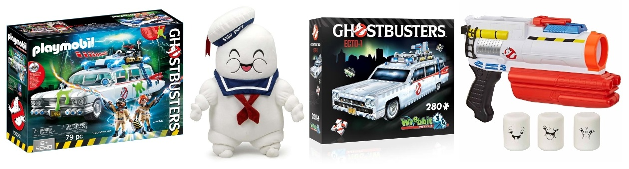 Ghostbusters Toys