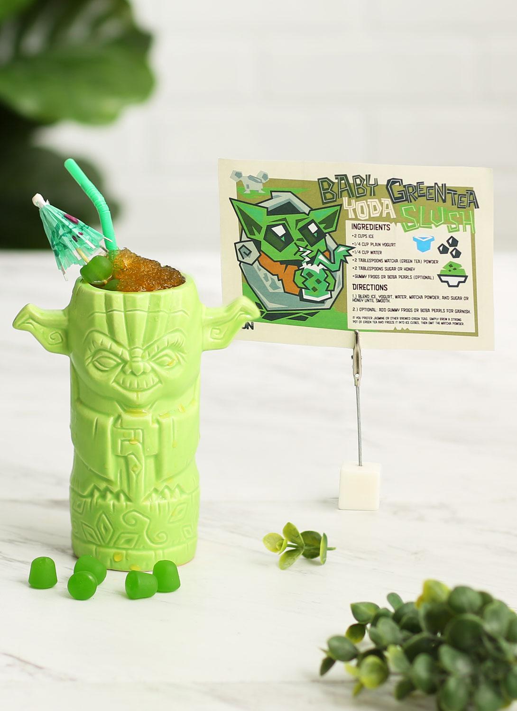 Baby Yoda Green Tea Slush Star Wars Frozen Drink