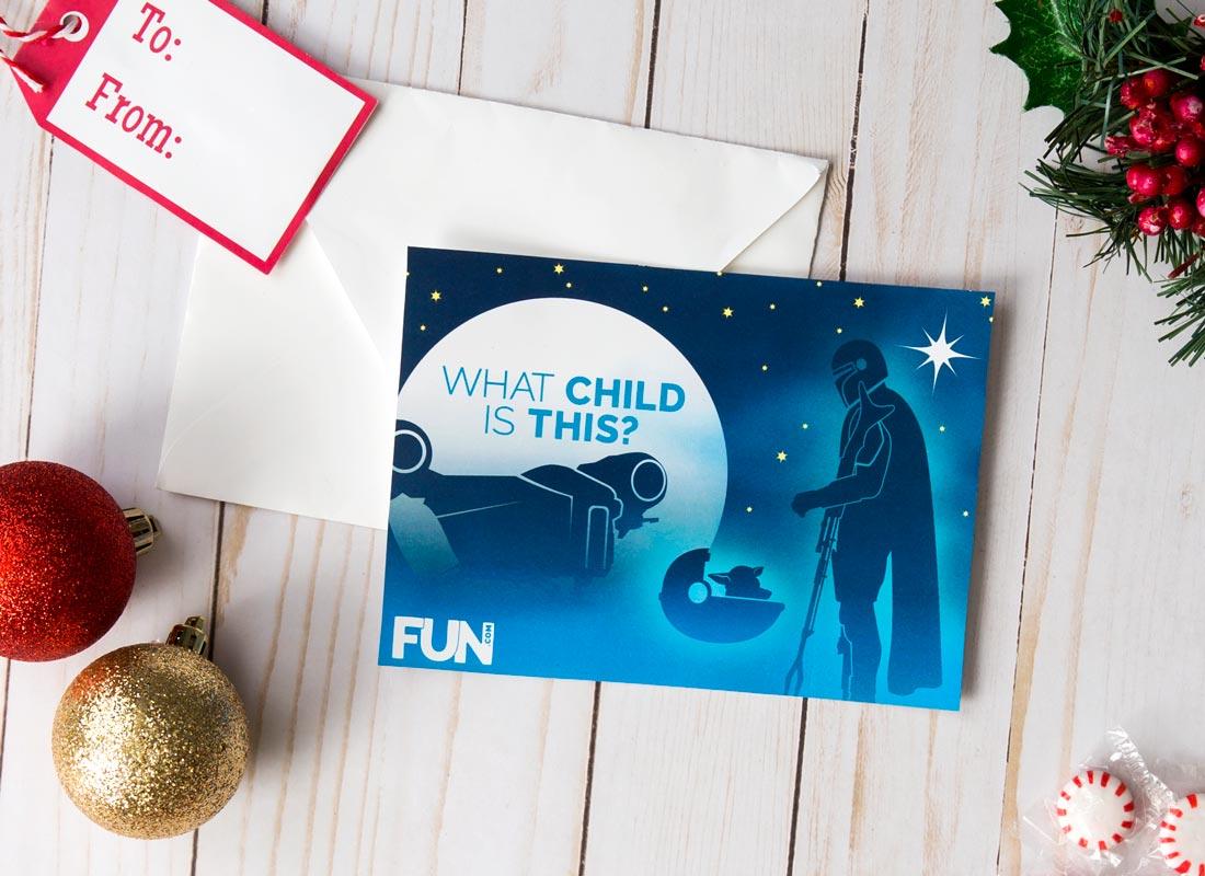 The Mandalorian Christmas Card