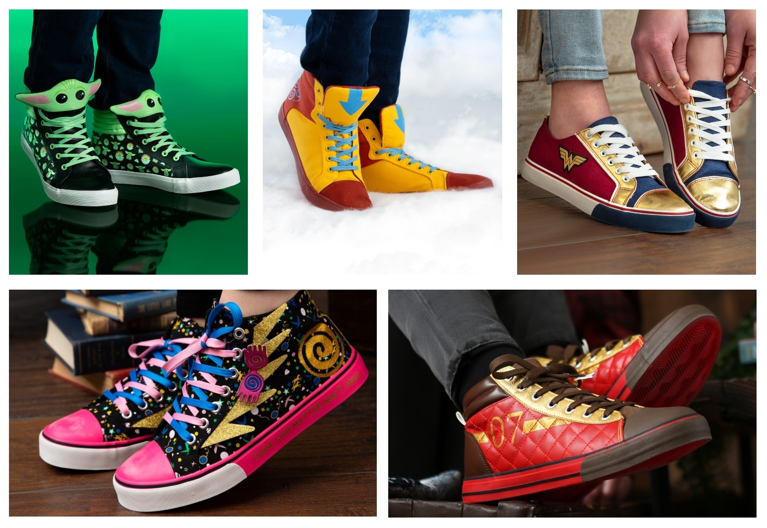 Pop Culture Shoes for Adults