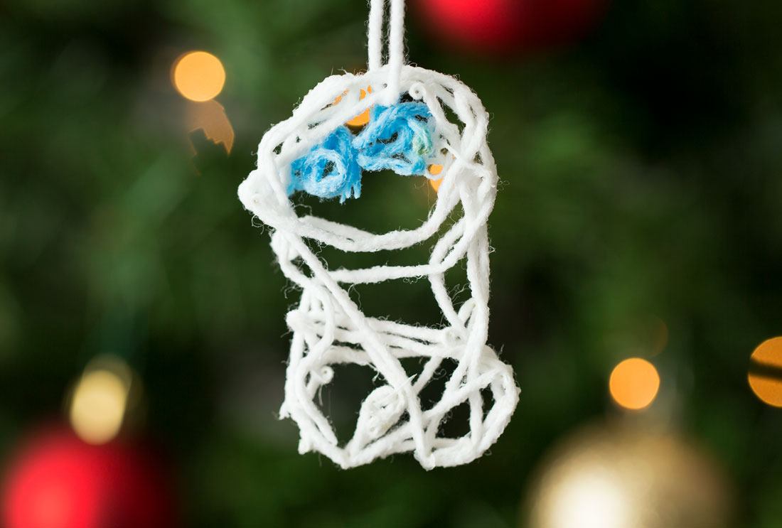 Completed Snowgies Ornament