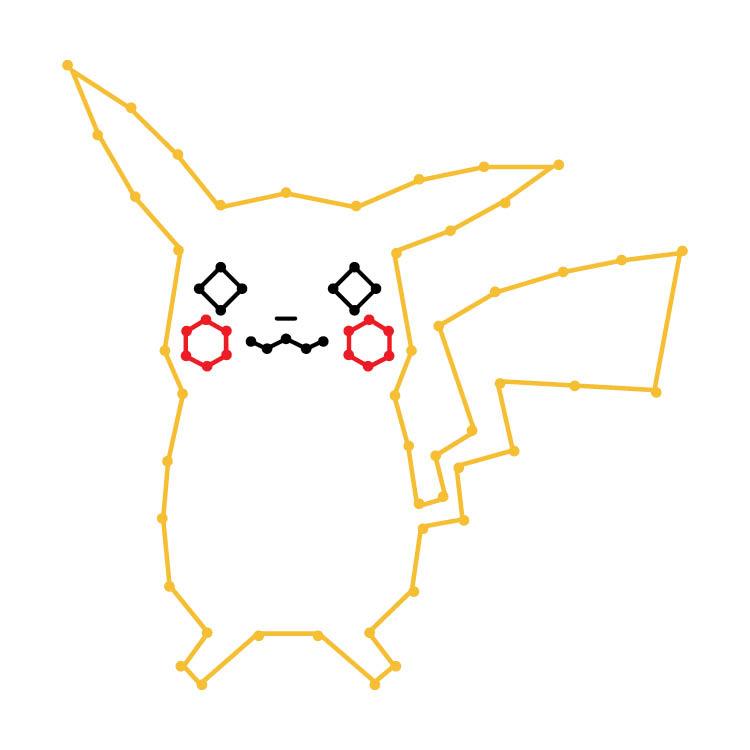 Challenging Pikachu Yarn Ornament